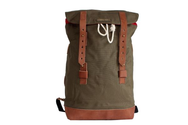 Andor 4 cord olive, backbag large