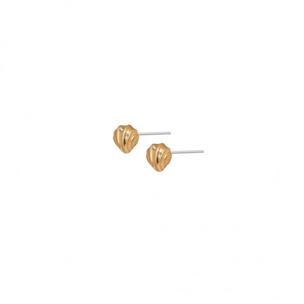 Dance Summer light Earstuds Matt gold