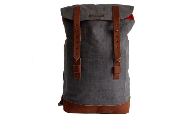 Andor 4 canvas grey, backbag large
