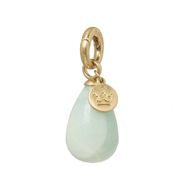 Charms Charm Amazonite worn gold