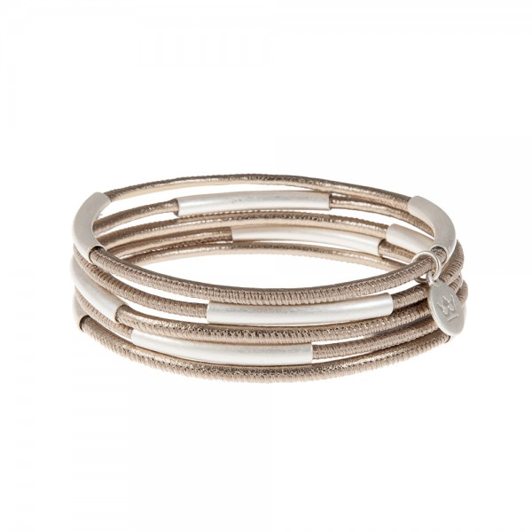 UG bracelet Platinum Nappa leather