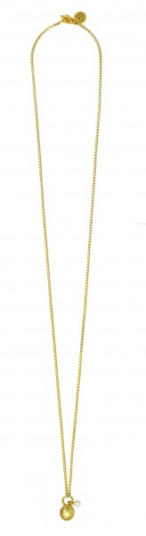 SIG Necklace Worn gold Freshwater Pearl 80 cm
